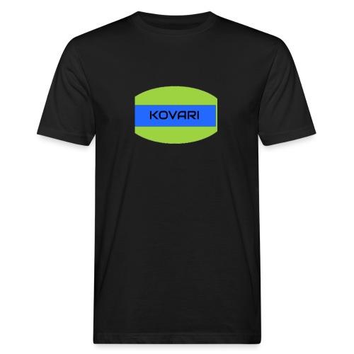 Kovari Logo - Miesten luonnonmukainen t-paita