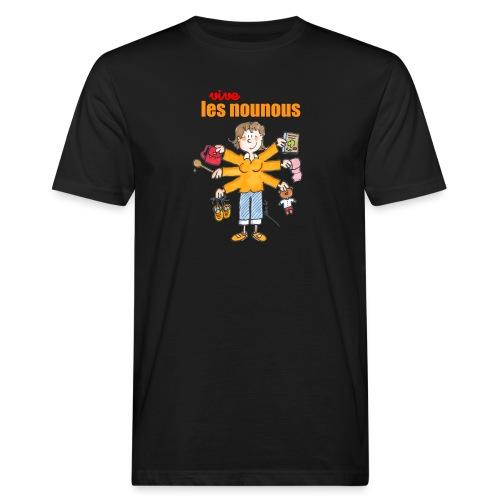 Danger ecole vive les nounous [mp] - T-shirt bio Homme