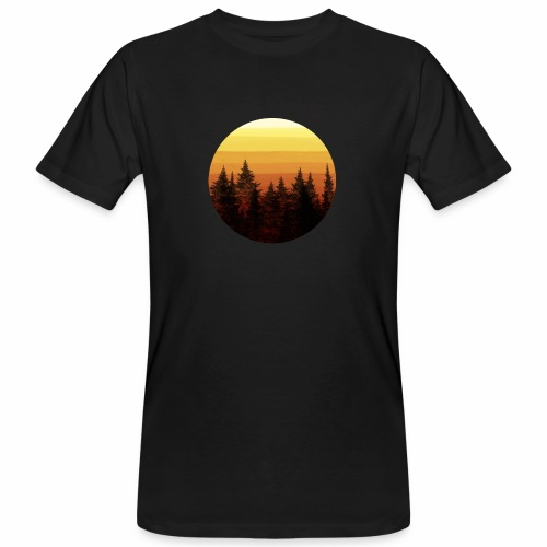 sunset - T-shirt bio Homme