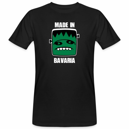 Fonster weiß made in Bavaria - Männer Bio-T-Shirt