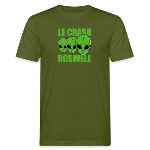 Le Crash Roswell - T-shirt bio Homme