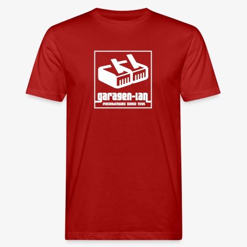 Garagenlan invertiert - Männer Bio-T-Shirt