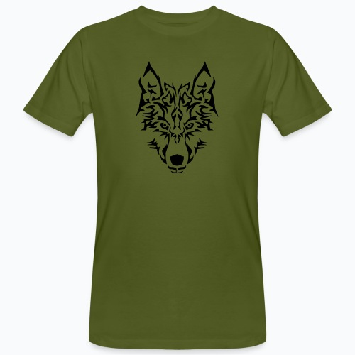 Tribal Wolf - T-shirt bio Homme