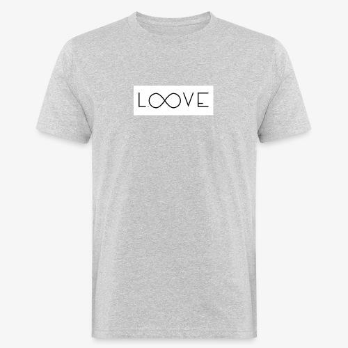 LOOVE Box Logo (SS18) - T-shirt ecologica da uomo