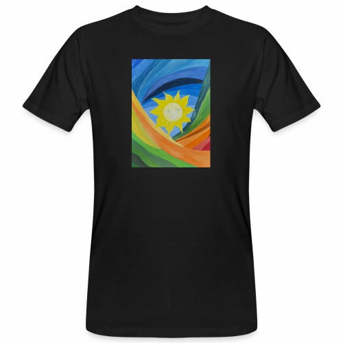 lachende-sonne - Männer Bio-T-Shirt