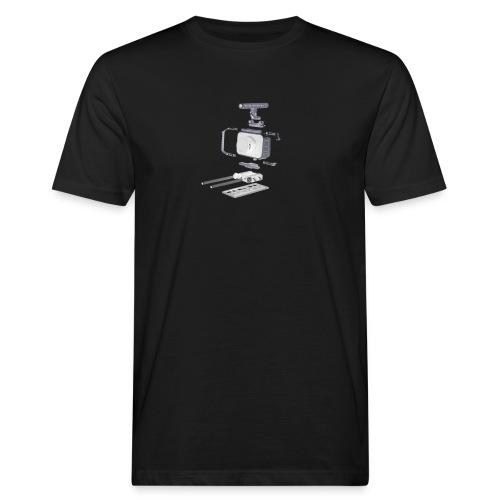 VivoDigitale t-shirt - Blackmagic - T-shirt ecologica da uomo