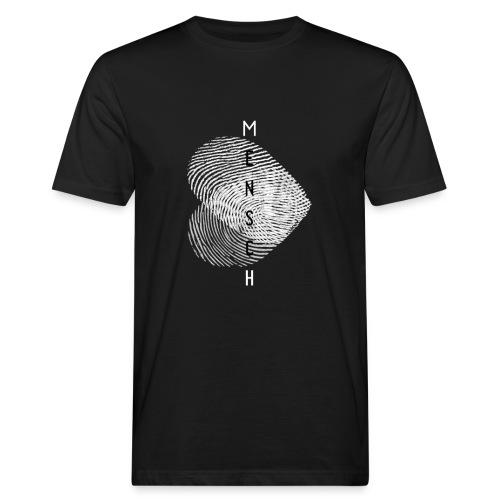 Echter Mensch - Männer Bio-T-Shirt
