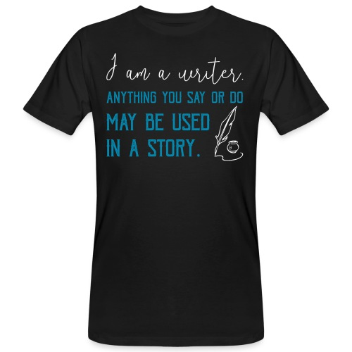 0268 Author | Writer | History | novel - Men's Organic T-Shirt