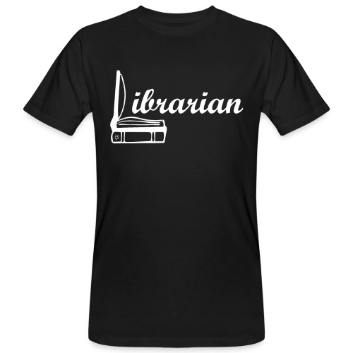 0325 Librarian Librarian Cool design - Men's Organic T-Shirt