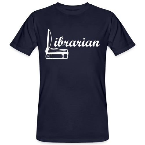 0325 Librarian Librarian Cool design - Men's Organic T-Shirt