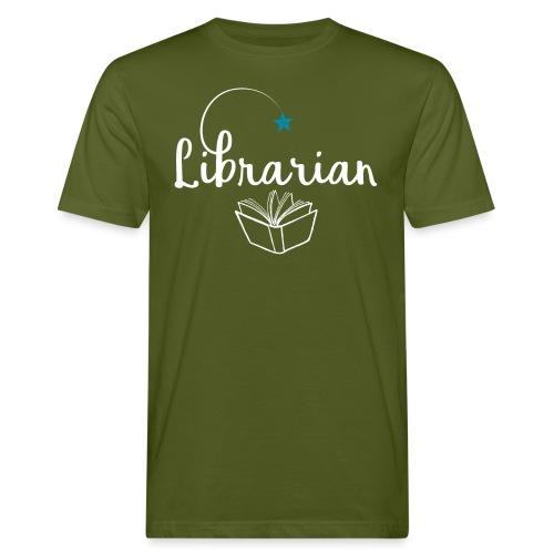 0328 Librarian Librarian Library Book - Men's Organic T-Shirt
