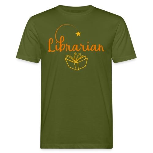 0327 Librarian Librarian Library Book - Men's Organic T-Shirt