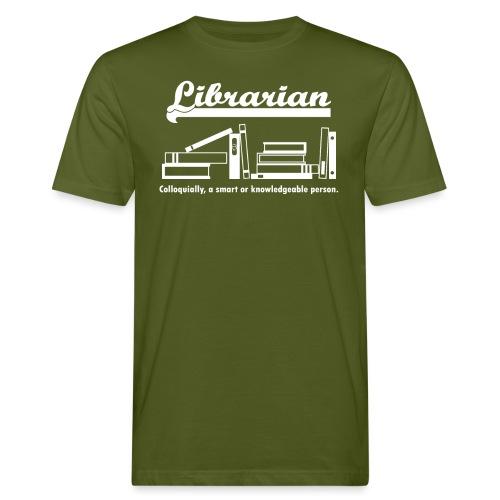 0334 Librarian Librarian Library Book - Men's Organic T-Shirt
