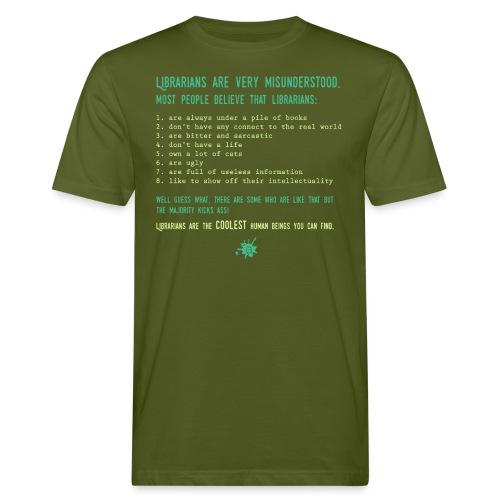 0339 Library, Librarians, Librarian - Men's Organic T-Shirt