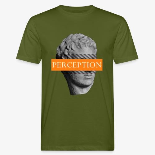 TETE GRECQ ORANGE - PERCEPTION CLOTHING - T-shirt bio Homme