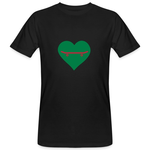 Love Skateboarding - Männer Bio-T-Shirt