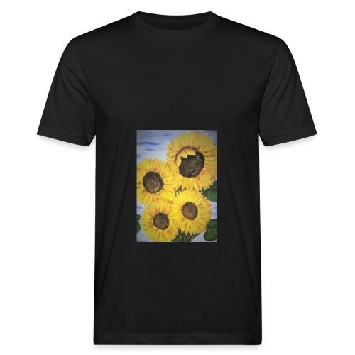 SonnenblumeIMG 20180815 090758 - Männer Bio-T-Shirt