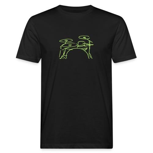 Drumset - Männer Bio-T-Shirt