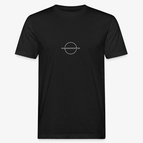 Geometrisches Design - Männer Bio-T-Shirt