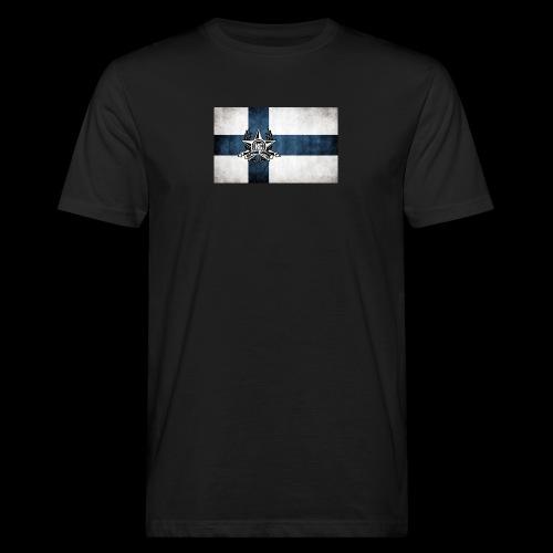 Suomen lippu - Miesten luonnonmukainen t-paita