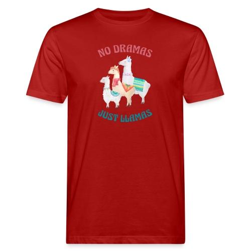 No Dramas Just Llamas - Men's Organic T-Shirt