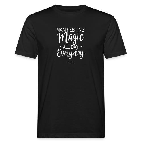 Manifesting Magic Black Edition - Männer Bio-T-Shirt