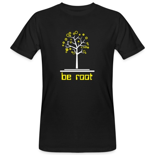 Be r00t - Men's Organic T-Shirt