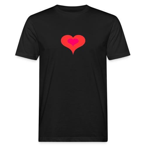 Corazon II - Camiseta ecológica hombre