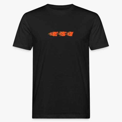 Flame - Mannen Bio-T-shirt