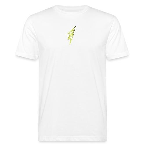 fulmine - T-shirt ecologica da uomo