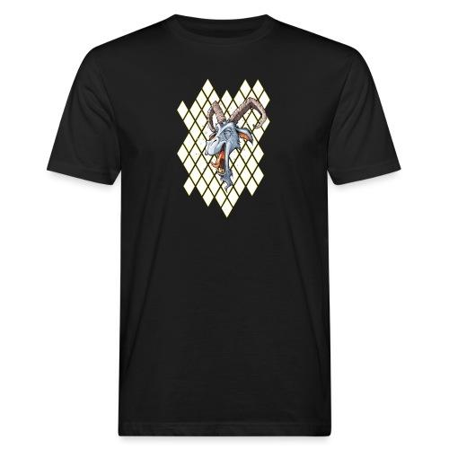 blauer bock - Männer Bio-T-Shirt