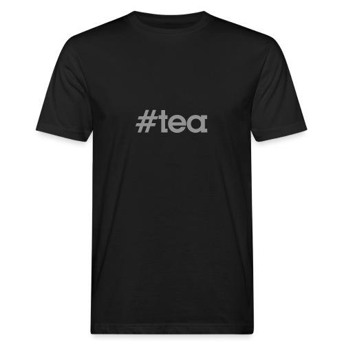 hashtag Tea gris - T-shirt bio Homme