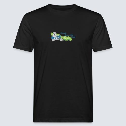 HDC jubileum logo - Mannen Bio-T-shirt