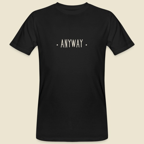 Anyway - T-shirt bio Homme