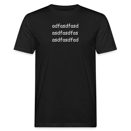 Cami asdf - Camiseta ecológica hombre