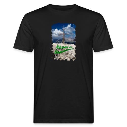 Sass Pordoi - Männer Bio-T-Shirt