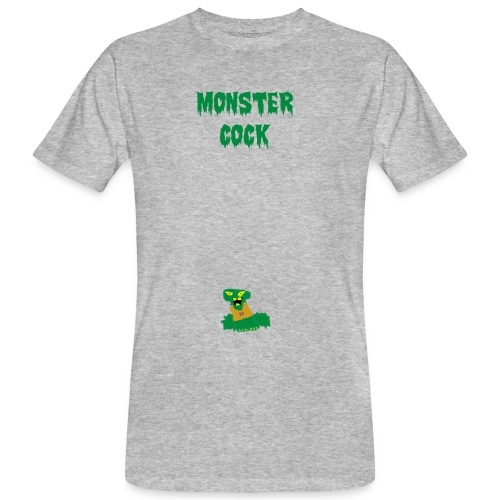 logo monster cock - Men's Organic T-Shirt