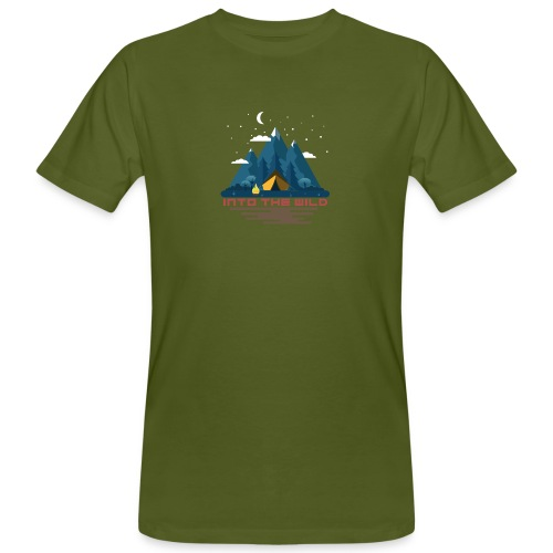 Into the wild - T-shirt bio Homme