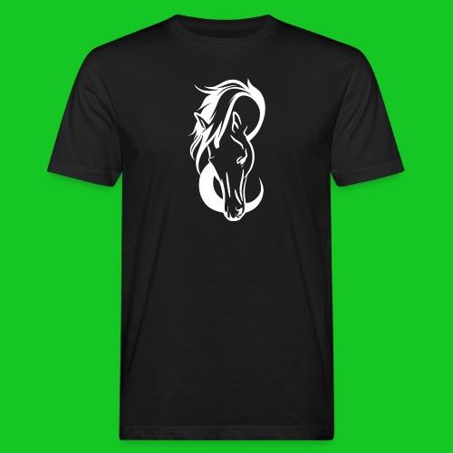 Paardenhoofd line - Mannen Bio-T-shirt