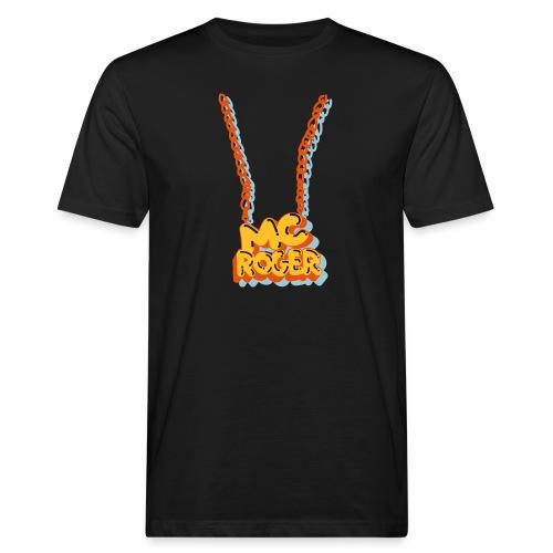 MC ROGER Bling Bling - Männer Bio-T-Shirt