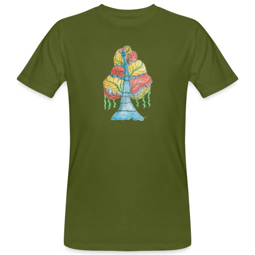 albero_alma_2015 - T-shirt ecologica da uomo