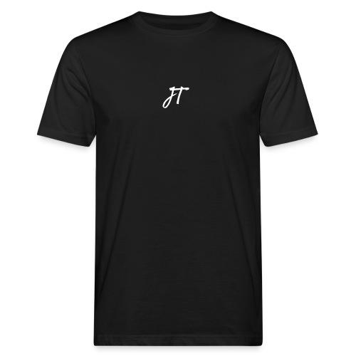 Embroided JT (Josh Trends) T-Shirt White - Men's Organic T-Shirt