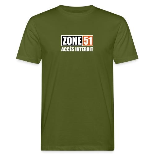 ZONE 51 - ACCES INTERDIT - T-shirt bio Homme