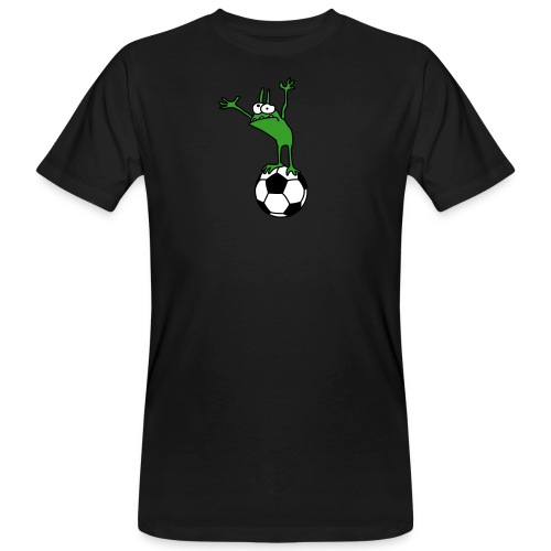 Kobold mit Fußball - Men's Organic T-Shirt