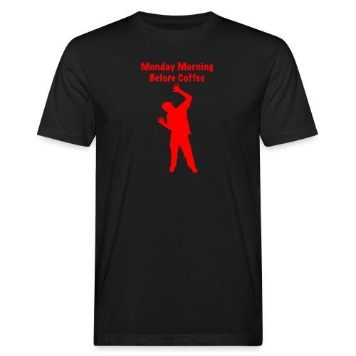 Coffee Zombie - Männer Bio-T-Shirt