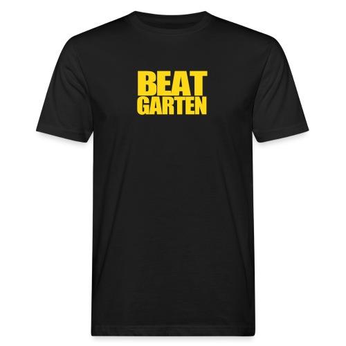Beatgarten Schriftlogo - Männer Bio-T-Shirt
