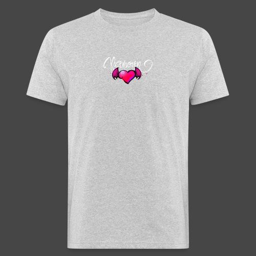 Logo and name - Men's Organic T-Shirt