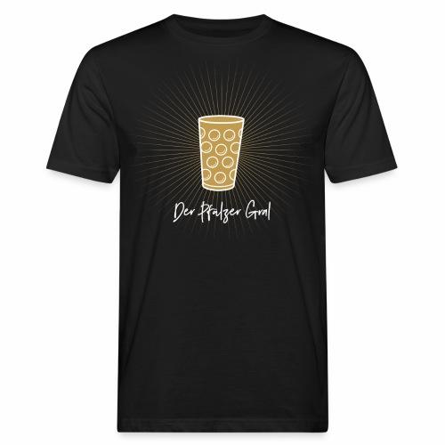 Der Pfälzer Gral - Dubbe Schobbe T-Shirt - Männer Bio-T-Shirt