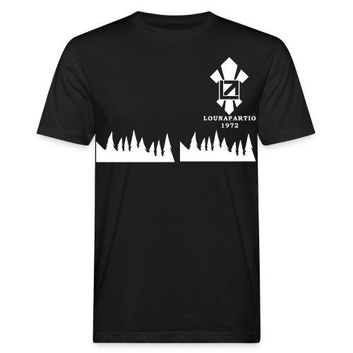 louvaatelogo - Miesten luonnonmukainen t-paita