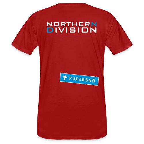 pudersn_2vari - Miesten luonnonmukainen t-paita
